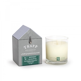 Trapp 7oz. Large Poured Candle - No. 76 Watermint Eucalyptus