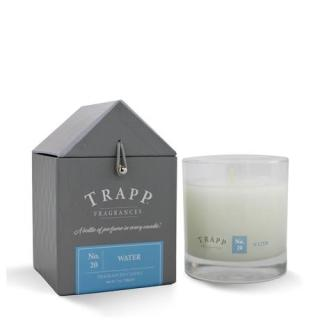 Trapp 7 oz. Large Poured Candle - No. 20 Water