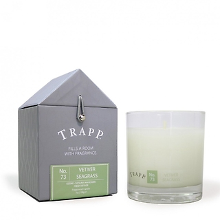 Trapp 7 oz. Large Poured Candle- No. 73 Vetiver Seagrass