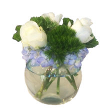 Hydrangea and Rose Bubble