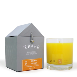 Trapp 7 oz. Large Poured Candle - No. 4 Orange Vanilla