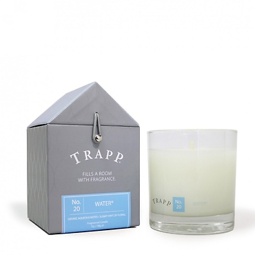 Trapp 7 oz. Large Poured Candle - No. 67 Fine Linen