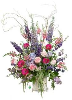 Basket of Pink n Purple