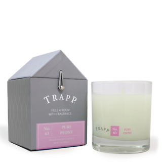 Trapp 7 oz. Large Poured Candle - No. 63 Pure Peony