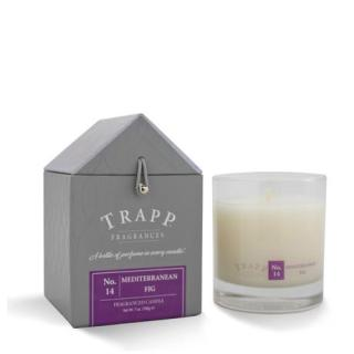 Trapp 7 oz. Large Poured Candle - No. 14 Mediterranean Fig
